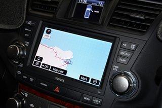 2013 Toyota Kluger GSU45R MY12 Grande AWD Silver 5 Speed Sports Automatic Wagon