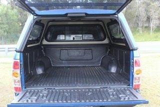 2010 Mazda BT-50 UNY0E4 DX Blue 5 Speed Automatic Utility