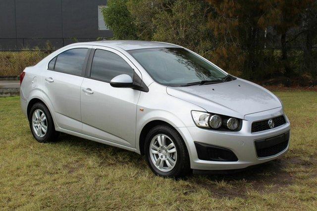 Used Holden Barina TM MY14 CD Ormeau, 2014 Holden Barina TM MY14 CD Silver 5 Speed Manual Sedan