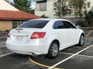 2010 Suzuki Kizashi FR XL White 6 Speed Constant Variable Sedan.