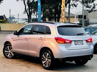 2014 Mitsubishi ASX XB MY15 XLS Silver, Chrome 6 Speed Sports Automatic Wagon.