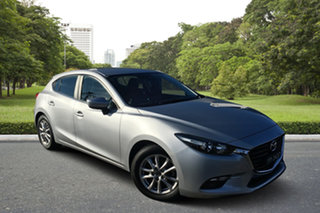 2017 Mazda 3 BN5476 Maxx SKYACTIV-MT Billet Silver 6 Speed Manual Hatchback.