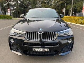 2016 BMW X4 F26 xDrive35i Coupe Steptronic Black 8 Speed Automatic Wagon.