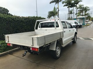2014 Toyota Hilux KUN26R MY14 SR Double Cab Glacier 5 speed Automatic Cab Chassis
