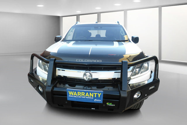 Used Holden Colorado RG MY17 Z71 Pickup Crew Cab West Footscray, 2016 Holden Colorado RG MY17 Z71 Pickup Crew Cab White 6 Speed Sports Automatic Utility