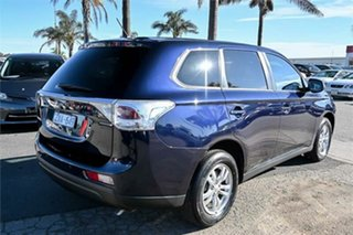 2013 Mitsubishi Outlander ZJ MY13 LS 2WD Blue 6 Speed Constant Variable Wagon