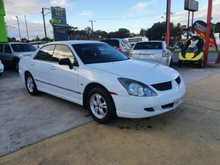 2004 Mitsubishi Magna TL ES White 4 Speed Sports Automatic Sedan