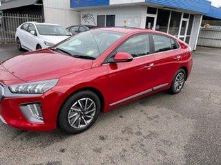 2021 Hyundai Ioniq AE.V4 MY21 electric Premium Fiery Red 1 Speed Reduction Gear Fastback.