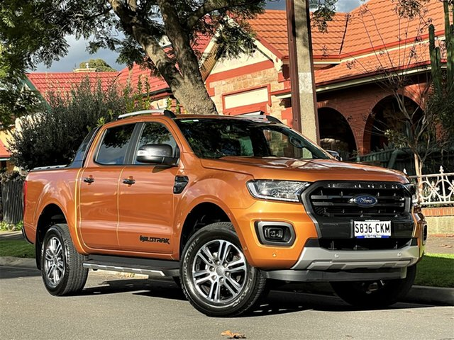 Used Ford Ranger PX MkIII 2021.25MY Wildtrak Hyde Park, 2021 Ford Ranger PX MkIII 2021.25MY Wildtrak Bronze 10 Speed Sports Automatic Double Cab Pick Up