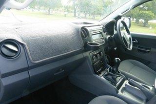 2011 Volkswagen Amarok 2H MY12 TDI400 4Mot Highline White 6 Speed Manual Utility