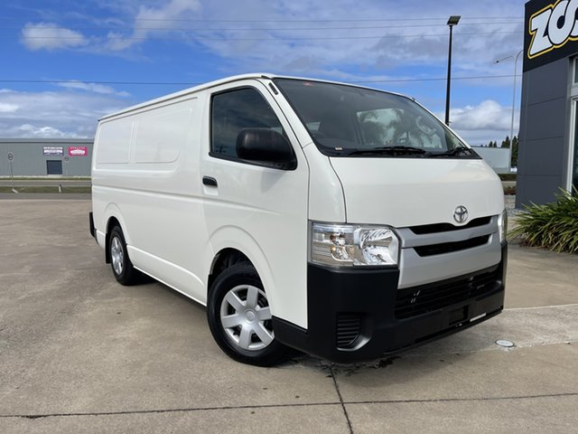 Used Toyota HiAce KDH201R LWB Townsville, 2016 Toyota HiAce KDH201R LWB White/131016 4 Speed Automatic Van