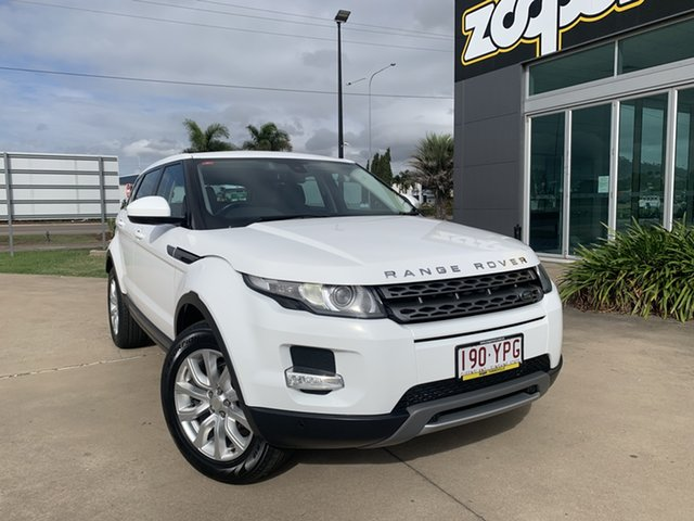 Used Land Rover Range Rover Evoque L538 MY15 Pure Townsville, 2015 Land Rover Range Rover Evoque L538 MY15 Pure White/220515 9 Speed Sports Automatic Wagon
