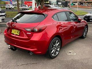 2018 Mazda 3 BN5438 SP25 SKYACTIV-Drive Astina Red 6 Speed Sports Automatic Hatchback