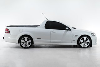 2010 Holden Ute VE MY10 SS V White 6 Speed Sports Automatic Utility