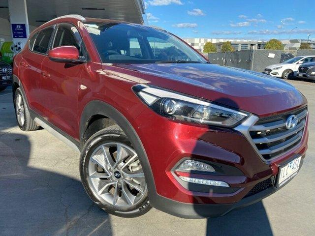 Used Hyundai Tucson TL MY18 Active X 2WD Ravenhall, 2017 Hyundai Tucson TL MY18 Active X 2WD Ruby Wine 6 Speed Sports Automatic Wagon