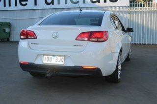 2015 Holden Commodore VF II Evoke White 6 Speed Automatic Sedan
