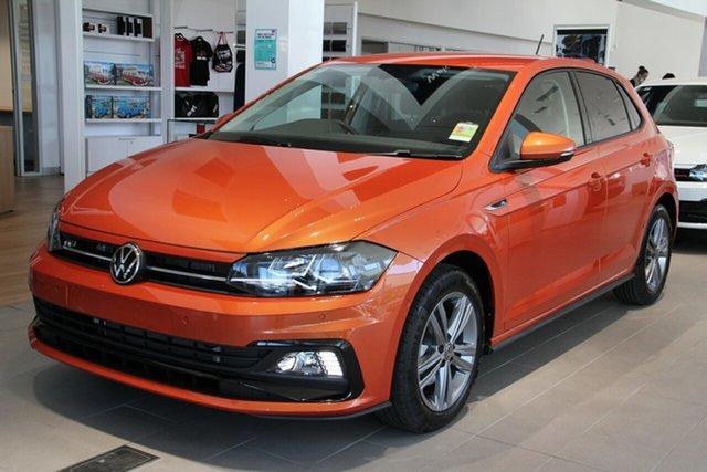 New Volkswagen Polo AW MY21 85TSI DSG Comfortline Port Melbourne, 2021 Volkswagen Polo AW MY21 85TSI DSG Comfortline Orange 7 Speed Sports Automatic Dual Clutch