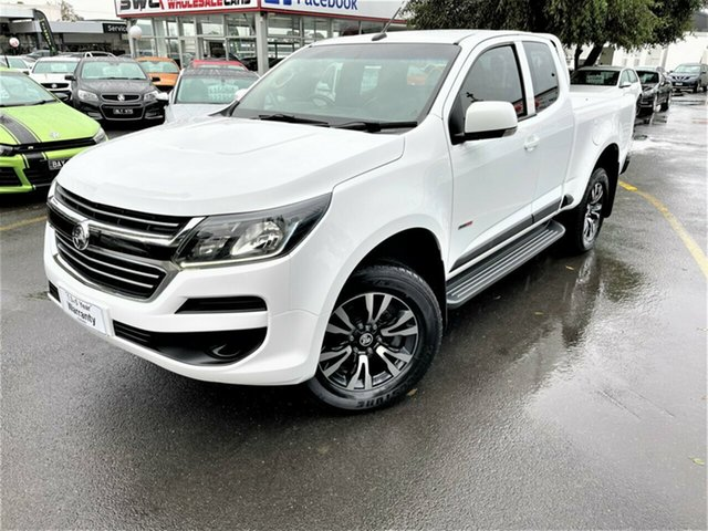 Used Holden Colorado RG MY18 LS Pickup Crew Cab 4x2 Seaford, 2018 Holden Colorado RG MY18 LS Pickup Crew Cab 4x2 White 6 Speed Sports Automatic Utility