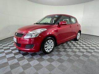 2011 Suzuki Swift FZ GL Red 4 Speed Automatic Hatchback.