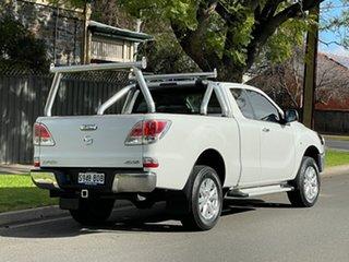 2014 Mazda BT-50 UP0YF1 XTR Freestyle White 6 Speed Manual Utility
