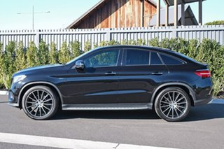 2016 Mercedes-Benz GLE-Class C292 GLE450 AMG Coupe 9G-Tronic 4MATIC Black 9 Speed Sports Automatic