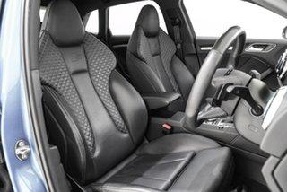 2017 Audi S3 8V MY18 Sportback S Tronic Quattro Blue 7 Speed Sports Automatic Dual Clutch Hatchback