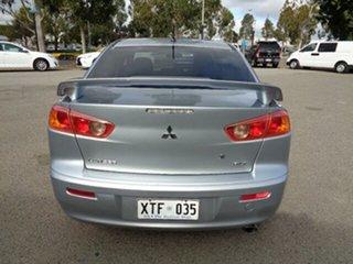 2008 Mitsubishi Lancer CJ MY08 VR-X Silver 6 Speed Constant Variable Sedan