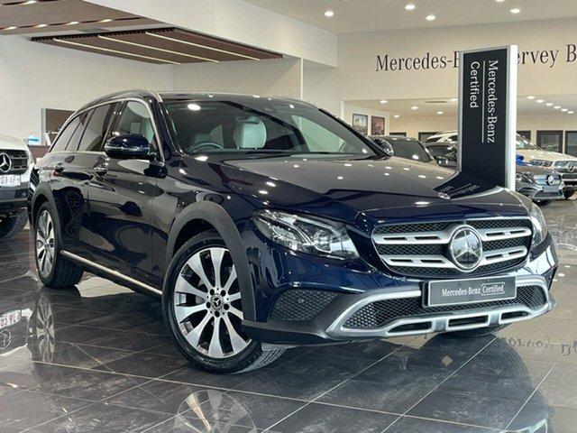Used Mercedes-Benz E-Class S213 808MY E220 d All-Terrain 9G-Tronic PLUS 4MATIC Hervey Bay, 2017 Mercedes-Benz E-Class S213 808MY E220 d All-Terrain 9G-Tronic PLUS 4MATIC Blue 9 Speed