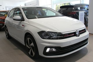 2021 Volkswagen Polo AW MY21 GTI DSG White 6 Speed Sports Automatic Dual Clutch Hatchback.