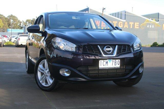 Used Nissan Dualis J10 MY13 TS (4x2) West Footscray, 2013 Nissan Dualis J10 MY13 TS (4x2) 6 Speed Manual Wagon
