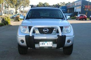 2007 Nissan Navara D40 ST-X (4x4) 5 Speed Automatic Dual Cab Pick-up.