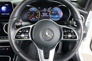 2019 Mercedes-Benz C200 W205 MY20 White 9 Speed Automatic G-Tronic Sedan