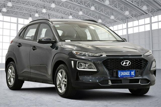 Used Hyundai Kona OS MY18 Active 2WD Victoria Park, 2017 Hyundai Kona OS MY18 Active 2WD Grey 6 Speed Sports Automatic Wagon