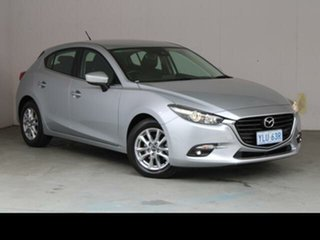 2016 Mazda 3 BM MY15 Maxx Silver 6 Speed Manual Hatchback
