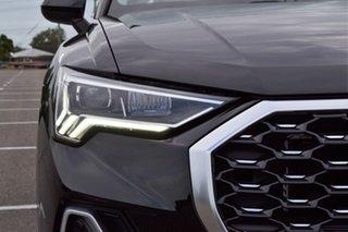 2019 Audi Q3 F3 MY20 35 TFSI Sportback S Tronic S Line Black 6 Speed Sports Automatic Dual Clutch.