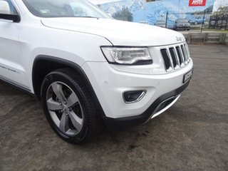 2015 Jeep Grand Cherokee WK MY15 Limited White 8 Speed Automatic Wagon