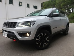 2020 Jeep Compass M6 MY20 Trailhawk Silver 9 Speed Automatic Wagon.