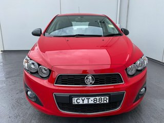 2015 Holden Barina TM MY15 X Red 6 Speed Automatic Hatchback.