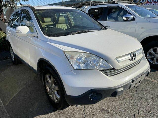Used Honda CR-V MY07 (4x4) Luxury Traralgon, 2007 Honda CR-V MY07 (4x4) Luxury White 5 Speed Automatic Wagon