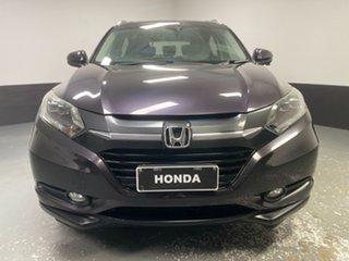 2017 Honda HR-V MY16 VTi-S Ruse Black 1 Speed Constant Variable Hatchback.