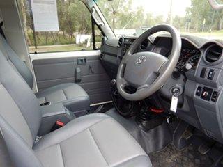 2019 Toyota Landcruiser VDJ79R GX French Vanilla 5 Speed Manual Cab Chassis