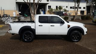 2011 Ford Ranger PK XL (4x2) White 5 Speed Automatic Dual Cab Pick-up.