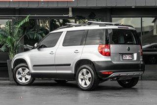 2013 Skoda Yeti 5L MY13 77TSI DSG Silver 7 Speed Sports Automatic Dual Clutch Wagon.