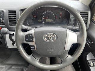 2016 Toyota HiAce KDH201R LWB White/131016 4 Speed Automatic Van