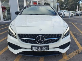 2016 Mercedes-Benz CLA-Class C117 807MY CLA220 d DCT White 7 Speed Sports Automatic Dual Clutch.
