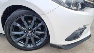 2016 Mazda 3 BM5238 SP25 SKYACTIV-Drive Snowflake White 6 Speed Sports Automatic Sedan.