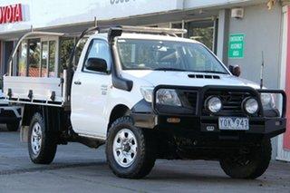 Hilux 4x4 Workmate 3.0L T Diesel Manual Single Cab C/C.