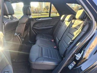2016 Mercedes-Benz GLE-Class W166 GLE63 AMG SPEEDSHIFT PLUS 4MATIC S Black 7 Speed