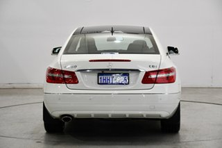 2010 Mercedes-Benz E-Class C207 E250 CDI BlueEFFICIENCY Elegance White 5 Speed Sports Automatic