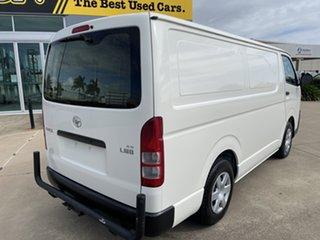 2016 Toyota HiAce KDH201R LWB White/131016 4 Speed Automatic Van.